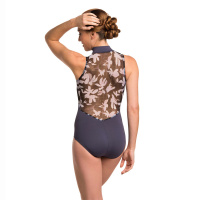 Ainsliewear Adult Floating Flower Leotard