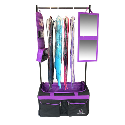 Backstage TravelRack Performance Package - Black/Purple