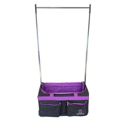 Backstage TravelRack Performance Bag - Black/Purple