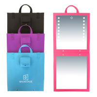 Backstage LED Folding Mirror