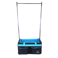Backstage TravelRack Performance Bag - Black/Turquoise