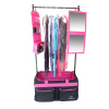 Backstage TravelRack Performance Package - Black/Hot Pink