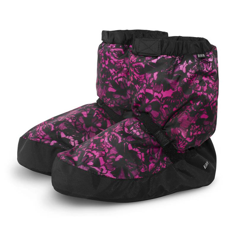 Bloch Child S Patterned Warmup Booties