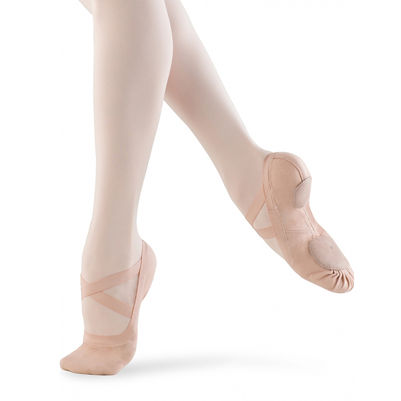 bloch synchrony women's ballet slippers