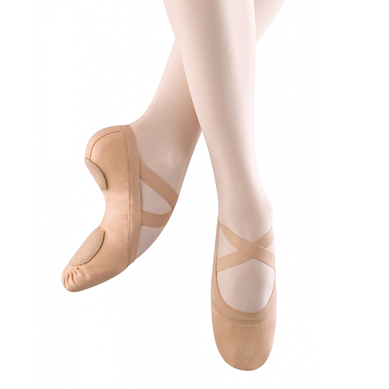 Bloch Canvas Ballet Shoes Sizing