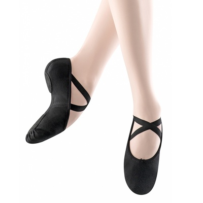 Bloch Zenith Adult Ballet Slippers - Black