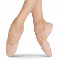 Bloch Elastosplit Pi Leather Ballet Slippers