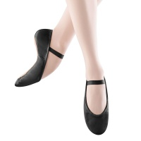 Bloch Dansoft Adult Ballet Slippers - Black