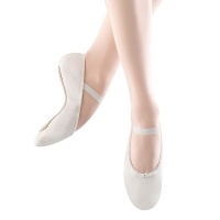 Bloch Dansoft Adult Ballet Slippers - White