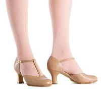 Bloch Splitflex Character Shoes - Tan