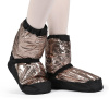 Bloch Adult Metallic Warmup Booties 3