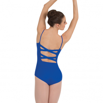 Body Wrappers Adult Cross-Back Camisole Leotard