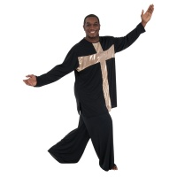 Body Wrappers Praise Dance Cross Mens Pullover
