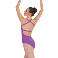 Body Wrappers Adult Cross-Back Tank Leotard