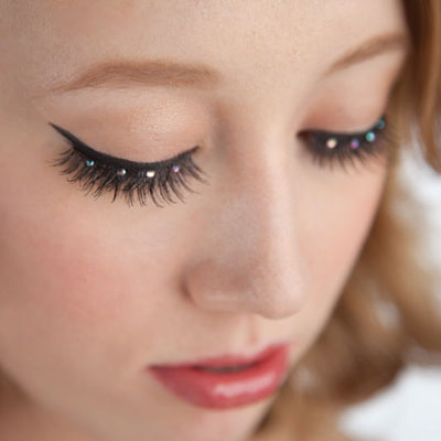 Bunheads Flirty Lashes with Stones