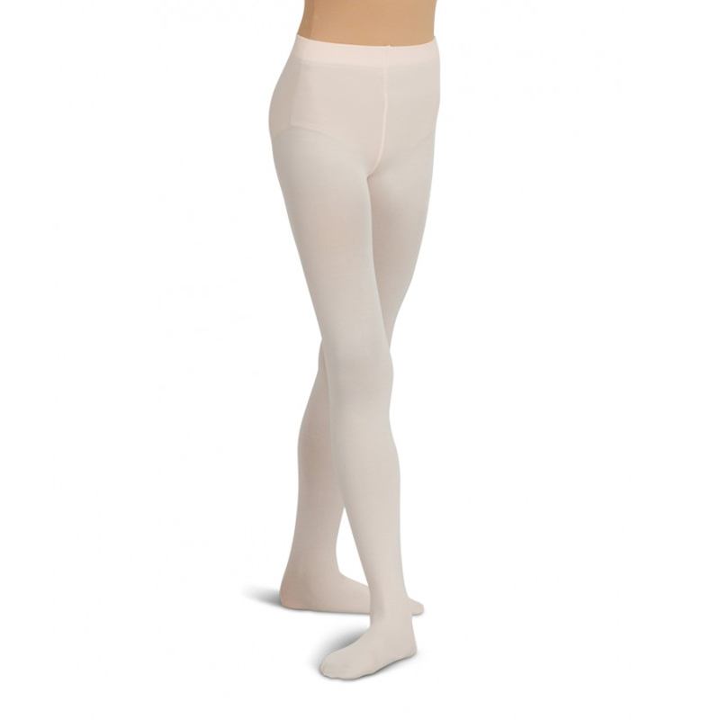 Capezio Ultra Soft Self Knit Waistband Toddler S Footed Tights