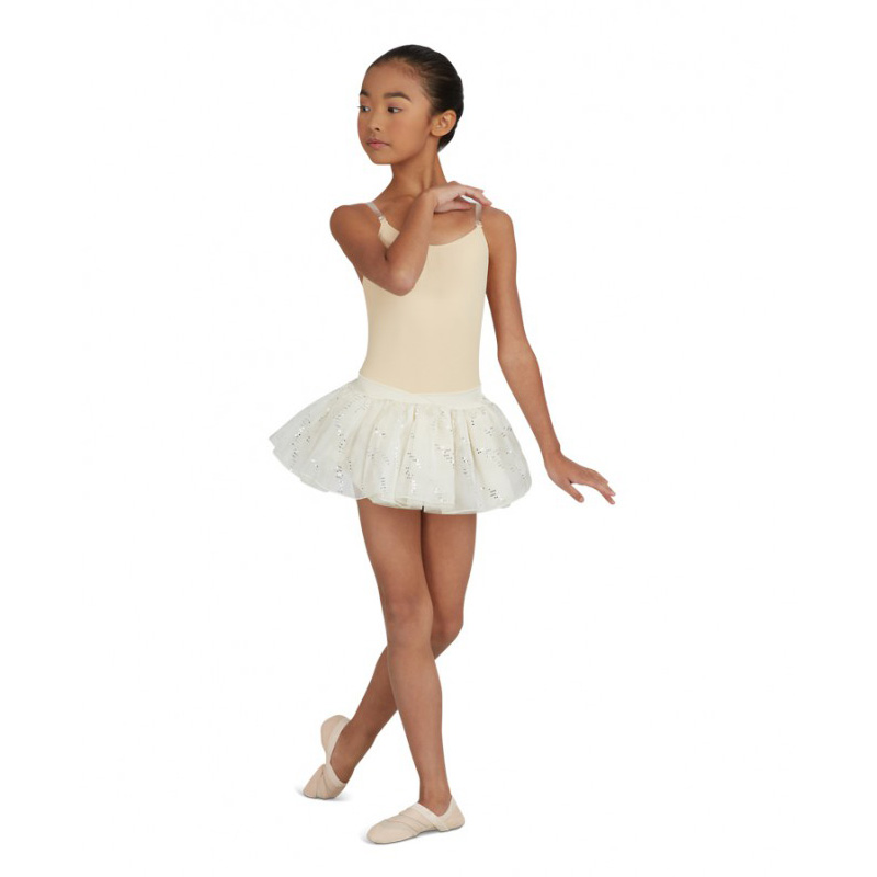 Capezio Child S Camisole Leotard W Clear Transition Straps