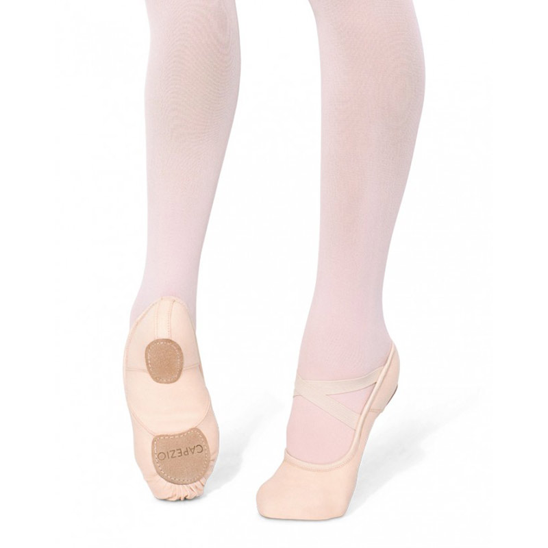 capezio child's hanami stretch canvas ballet slippers