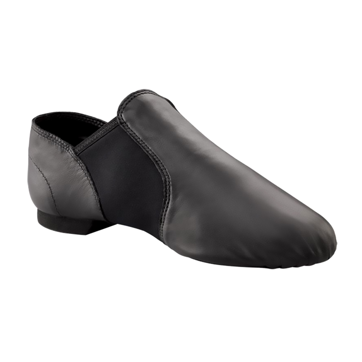 capezio e series jazz slip on jazz shoes black