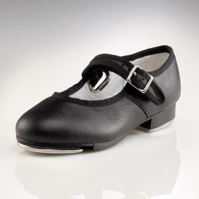 Capezio Childs Mary Jane Tap Shoes - Black