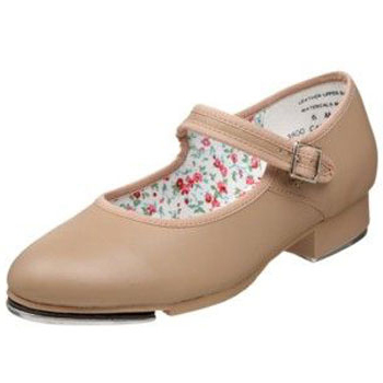 Capezio Child's Mary Jane Tap Shoes - Caramel