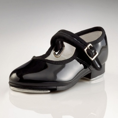 Capezio Childs Mary Jane Tap Shoes - Patent