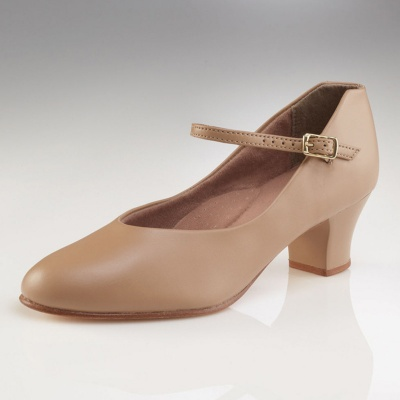 Capezio Adult Jr. Footlight Character Shoes - Caramel