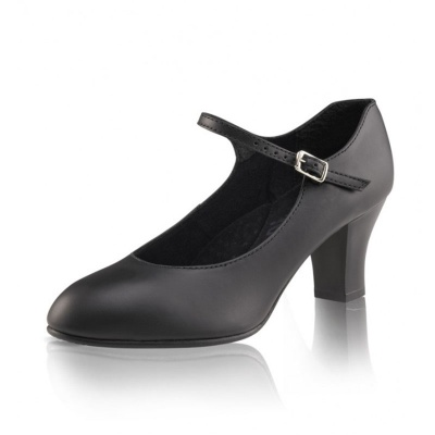 Capezio Student Footlight Character Shoes - Black