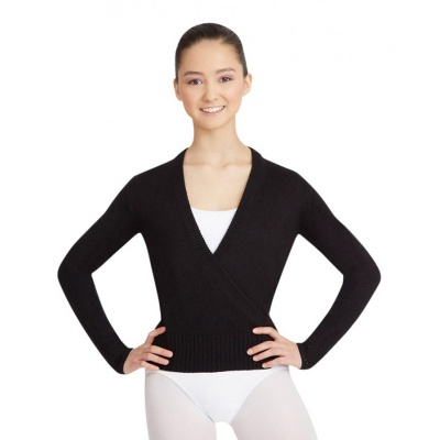 Capezio Adult Long Sleeve Wrap Sweater