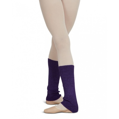 Capezio Childs Metallic Sheen Legwarmers