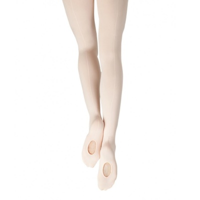 Capezio Child's Mesh Transition Tights with Mock Seam