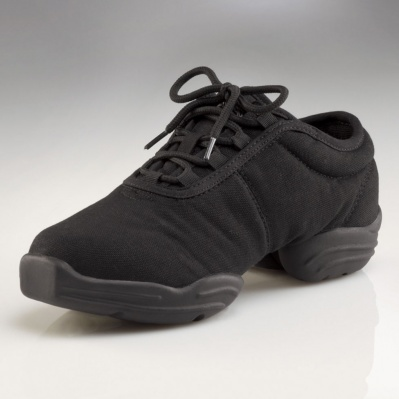 Capezio Child's Canvas Dansneaker - Black