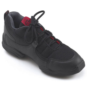 Capezio Adult Fierce Dansneaker - Black/Red