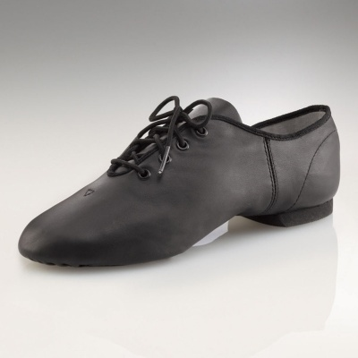 Capezio E-Series Jazz Oxford Jazz Shoes - Black