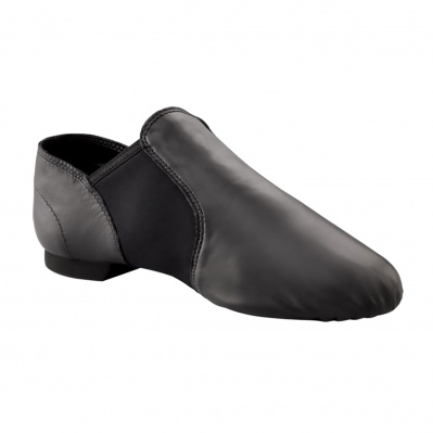 Capezio E-Series Jazz Slip On Jazz Shoes - Black
