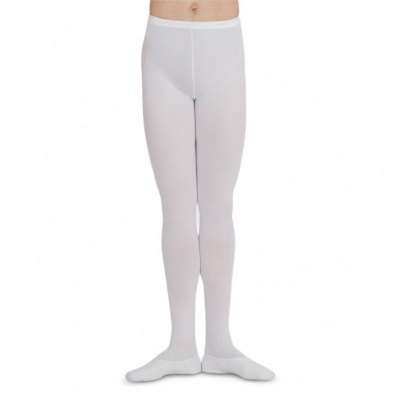 Capezio Men's Knit Footed Tights w/Back Seams