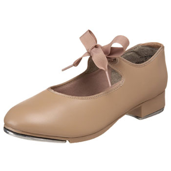 Capezio Child's Jr. Tyette Tap Shoes - Caramel
