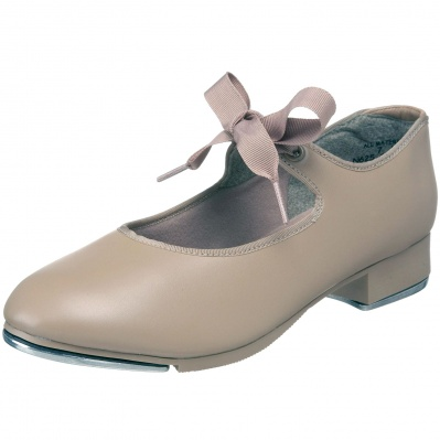 Capezio Child's Jr. Tyette Tap Shoes - Tan