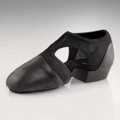 Capezio Adult Pedini Femme Lyrical Shoes - Black
