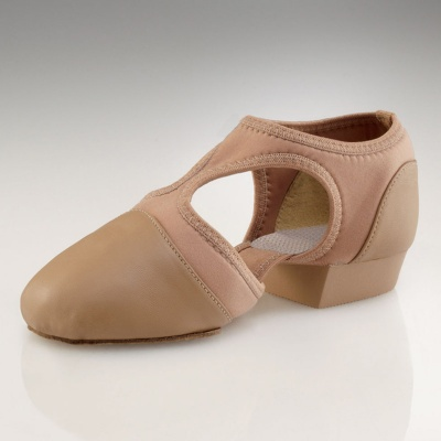 Capezio Child's Pedini Femme Lyrical Shoes - Caramel