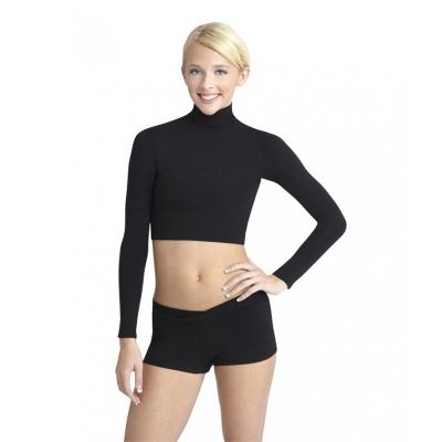Capezio Adult Turtleneck Long-Sleeve Top