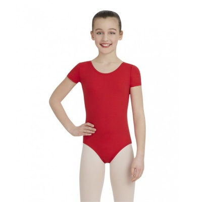 Capezio Childs Short Sleeve Leotard