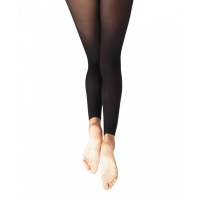 Capezio Ultra Soft Self Knit Waistband Adult Footless Tights