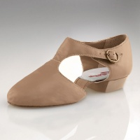 Capezio Pedini Adult Lyrical Shoes - Caramel