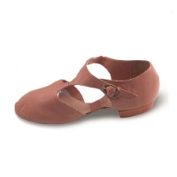 Capezio Pedini Adult Lyrical Shoes - Suntan