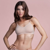 Capezio Seamless Clear-Back Bra