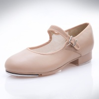 Capezio Adult Mary Jane Tap Shoes - Caramel
