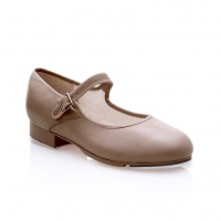 Capezio Mary Jane Tap Shoes - Tan