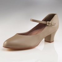 Capezio Adult Jr. Footlight Character Shoes - Tan