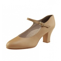 Capezio Student Footlight Character Shoes - Caramel